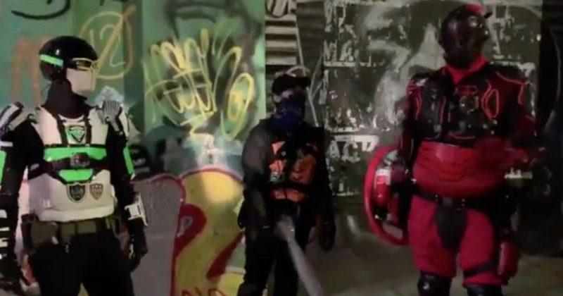VIDEO: Costumed 'Superheroes' Deployed In Place Of Police Within CHAZ