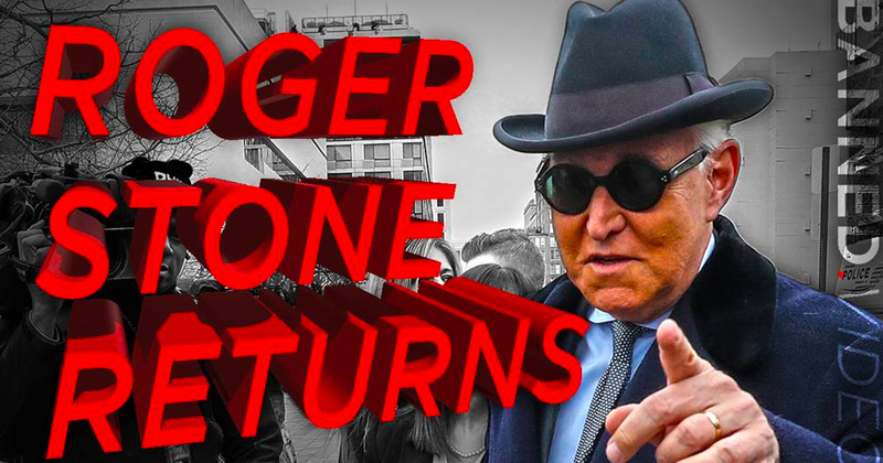 EXCLUSIVE: Roger Stone Breaks His Silence On Eve Of Imprisonment