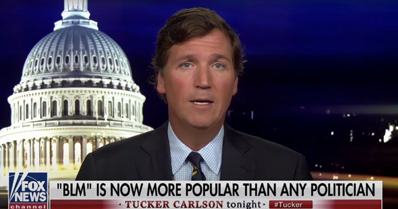 Tucker Carlson: 'Black Lives Matter Now Enjoys Almost Complete Immunity From Criticism'