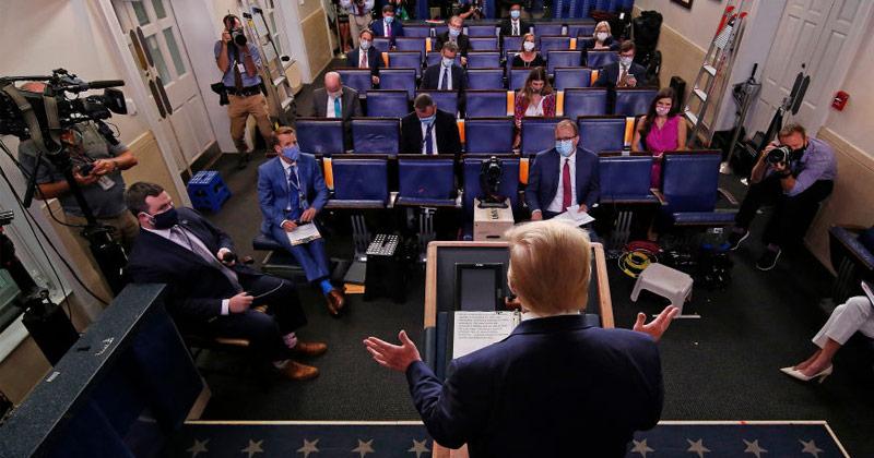 Trump Cancels Republican National Convention in Florida, Citing Coronavirus Concerns