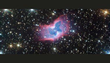 Stunning space butterfly captured by telescope