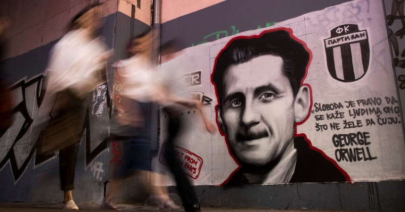 """Orwell Cancelled? Journalist Says """"Vile"""" Author Aided Nazis"""