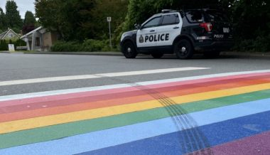 "West Vancouver Police: Driver Carried Out ""Gesture of Hate"" For Skidding on Pride Crosswalk"