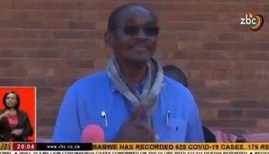 VIDEO: Vice President of Zimbabwe Says Country Starves Because White People Didn't Teach Them Economics