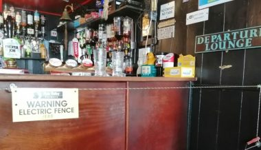 Pub Landlord Installs Electric Fence Around Bar to Enforce Social Distancing