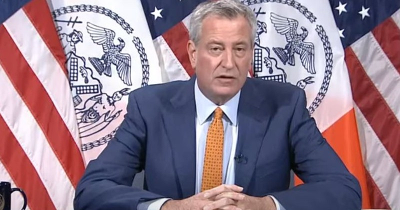 Mayor Bill de Blasio Celebrates Record Low Prison Population as Shootings Soar 277%