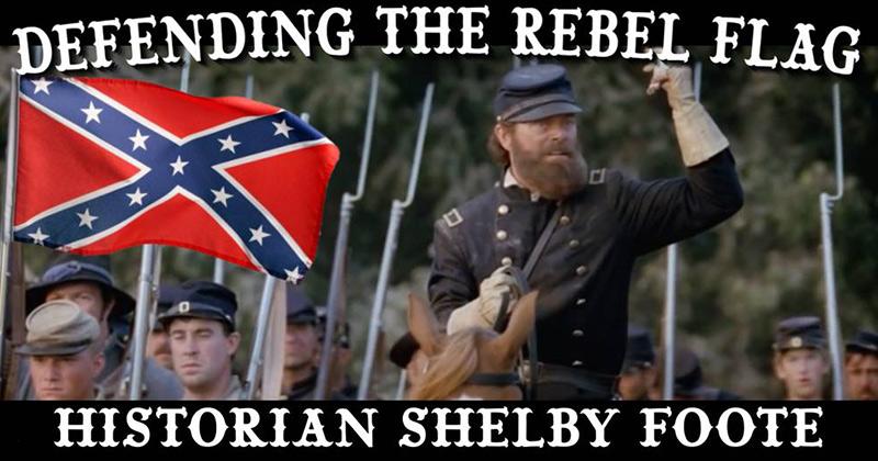 Defending The Rebel Flag