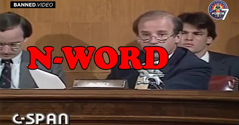 Joe Biden Drops N-Word And Makes Other Racial Disparaging Remarks