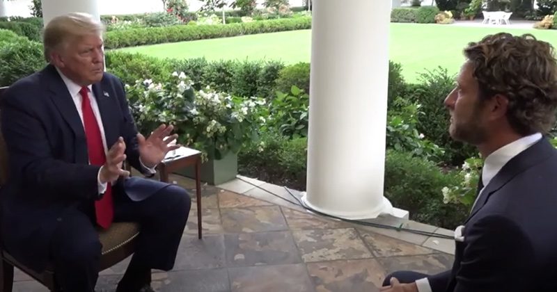 Watch: President Trump's Interview With Barstool Sports' Dave Portnoy - Full Interview