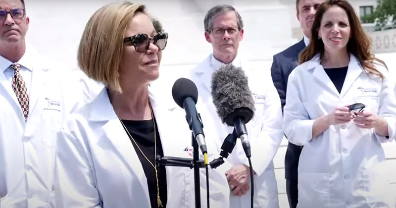 Frontline Doctors Double Down On Hydroxychloroquine In Defiance of Big Tech Censorship