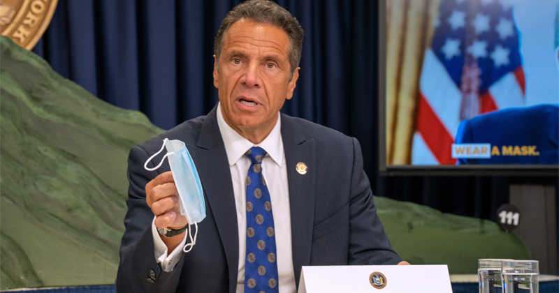 "NY Bar Says Liquor License Suspended Over ""F*CK CUOMO"" Menu"
