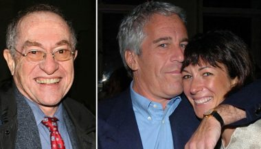 Dershowitz Defends Ghislaine Maxwell's Character As He Sues Epstein Victim for Accusing Him of Rape