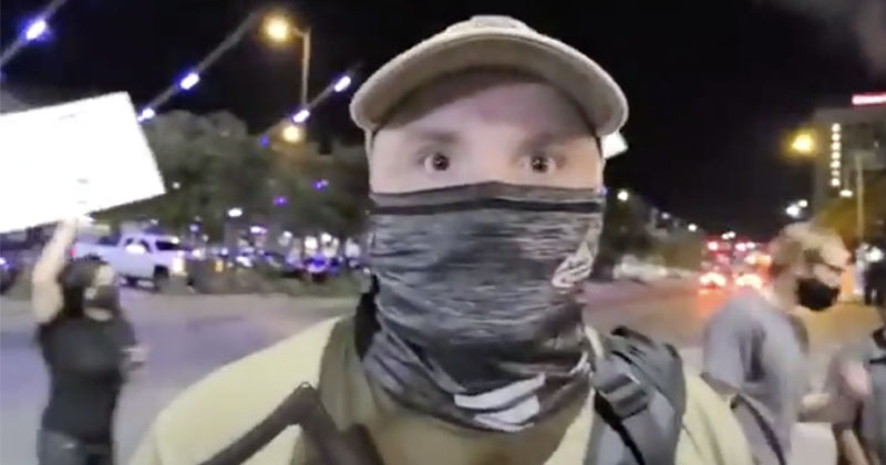 Austin 'Protester' Allegedly Armed With AK-47 Shot by Driver While Blocking Traffic And 'Approaching Vehicle' BLMterrorist23029