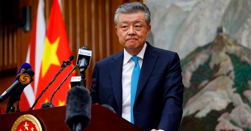 """Chinese Ambassador Warns UK of """"Consequences"""" Over Hong Kong Rhetoric"""