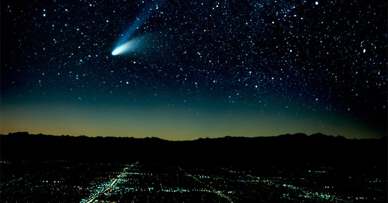 Astrophysicists Using Carbon to Determine Age of Comets