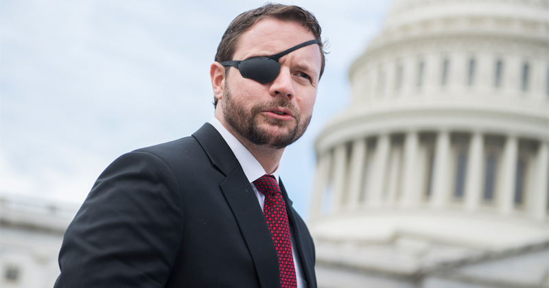 Dan Crenshaw Joins Dems in Vote to Remove Statues