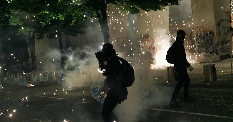 Protesters Sue Trump Administration for Federal Response to Portland Riots