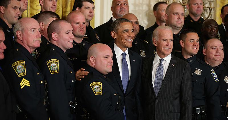 National Association of Police Organizations Ditches Joe Biden, Endorses Trump for President