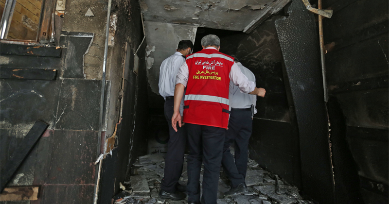 Iran Sees 6th Deadly 'Mystery' Explosion In Weeks At Industrial Zone Near Tehran
