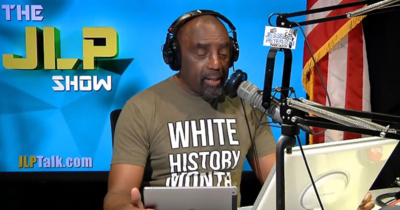 VIDEO: Jesse Lee Peterson Celebrates July As 'White History Month'