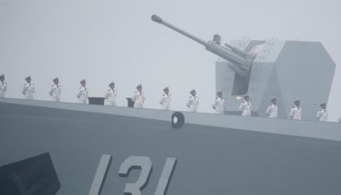 Chinese Navy Installs New Turbo Generators to Power Railguns, Electromagnetic Catapults