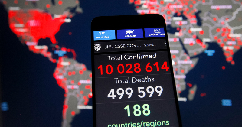 Deep State Hijacks Cell Phones Nationwide To Push COVID-19 Hoax