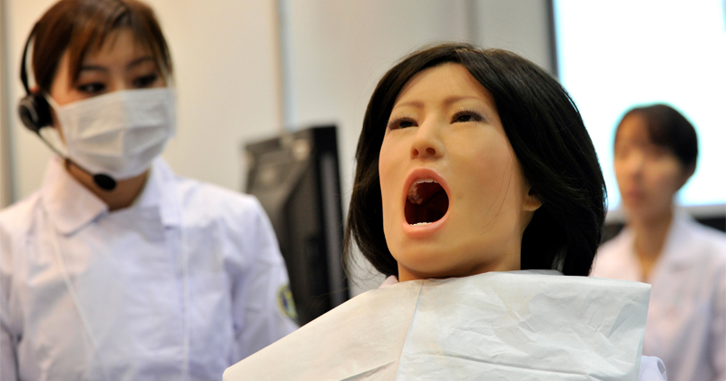 Researchers Using Robot Jaws to Test Medicated Chewing Gum