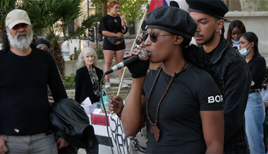 Video: Marxist BLM Protest Leader Calls For Black Militia, Revolution