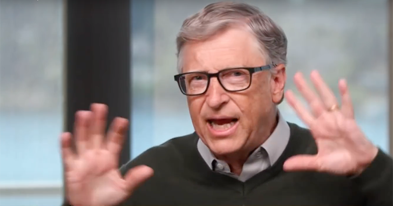 Video: Bill Gates Again Denies Vaccines Are Cover For Global Microchipping Program