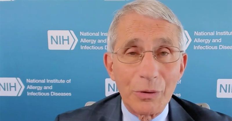 "Video: Fauci Dismisses Frontline Doctors As ""A Bunch Of People Spouting Something That Isn't True"""