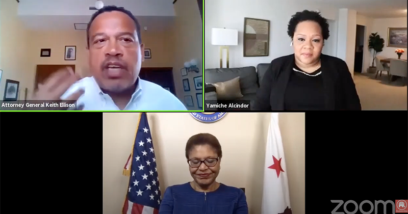 VIDEO: Minnesota AG Keith Ellison Tells Rape Victims Not To Call Cops, Call Therapists Instead