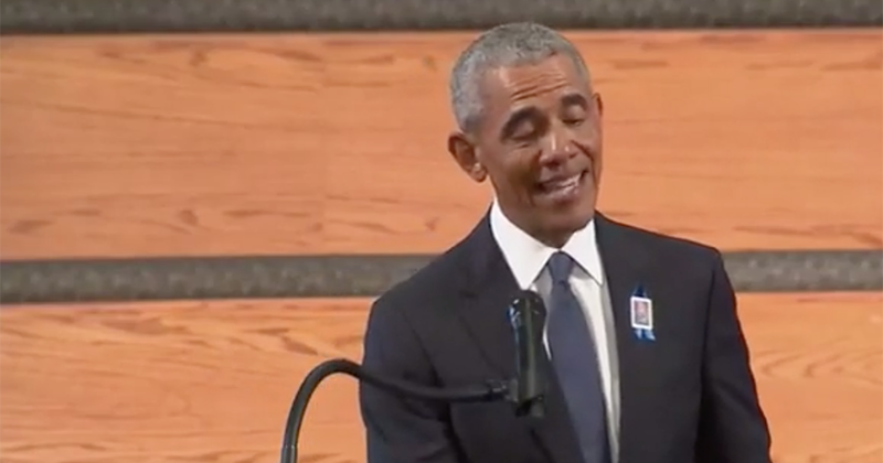 Obama Uses John Lewis Funeral to Call for 'Eliminating the Filibuster'