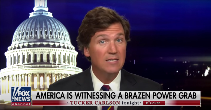 "Tucker Warns America: Democrats Fighting for ""Complete Control"" of United States"