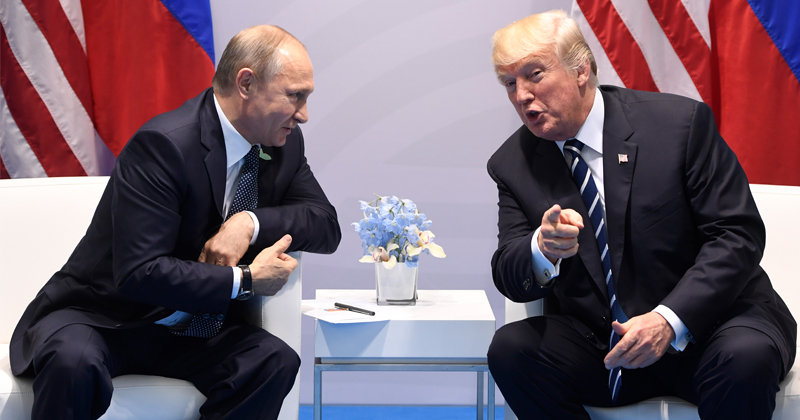 Trump & Putin Discuss Arms Control, Strategic Stability