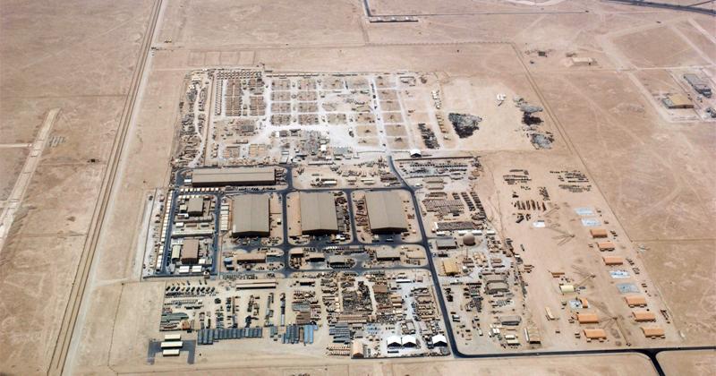 Iranian Satellite Snaps Pics of US's Largest Mideast Base