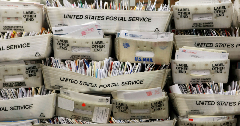Postal Workers Sounding Alarm Over Mail-In Ballots