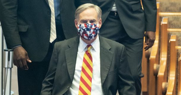 Texas Governor Blasted For Celebrating Freedom While Imposing Mask Orders & Shutdowns
