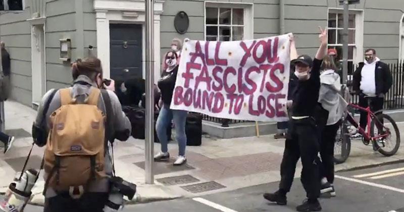 Video: Antifa Attacks Anti-Pedophilia Demonstration