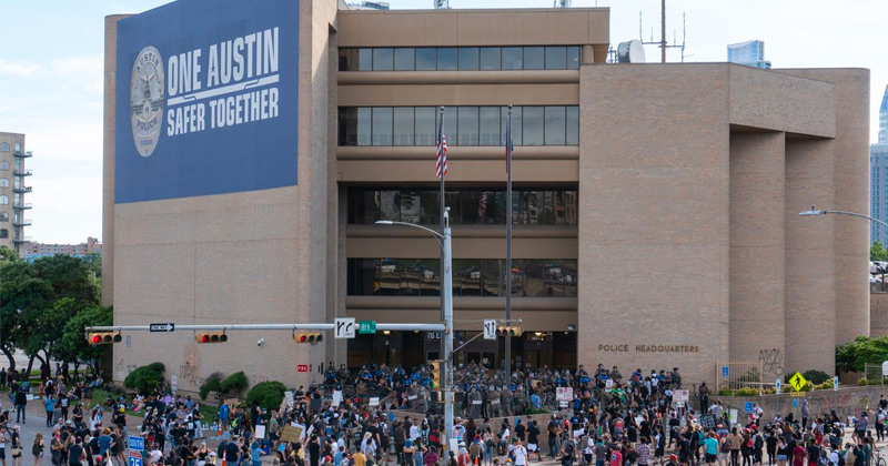 Austin City Council Officially Calls for Blowing Up Police Station As Symbol of Ending Police Hate