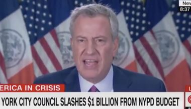 NY Mayor De Blasio Trashes First Amendment, Says BLM Protests & Church Are 'Apples and Oranges'