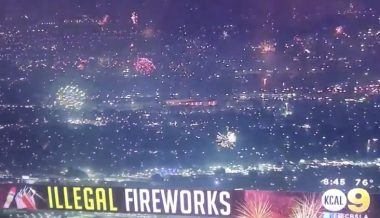 Video: Californians Defy Democrats Cancelling July 4th Festivities With Thousands of 'Illegal' Fireworks