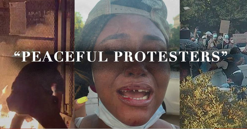 """Stop The """"Peaceful Protesters"""" Narrative"""