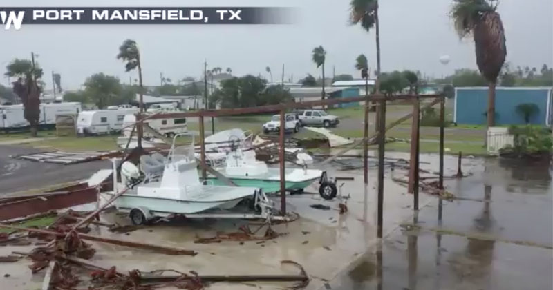 'Catastrophic Flooding Expected': Hanna Hammers Virus-Infected South Texas