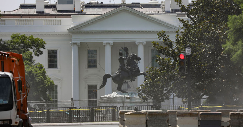 """Ringleader"" in Plot to Tear Down Andrew Jackson Statue Is Arrested"