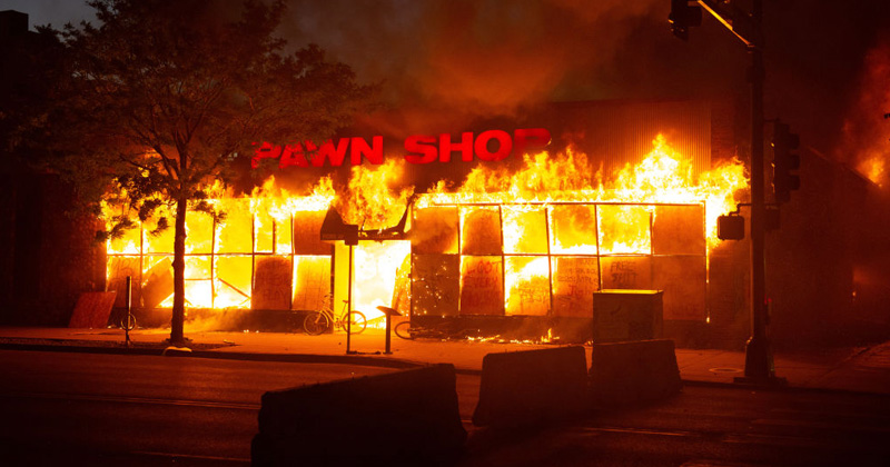 Body Found Inside Minneapolis Pawn Shop Burned By BLM Rioters