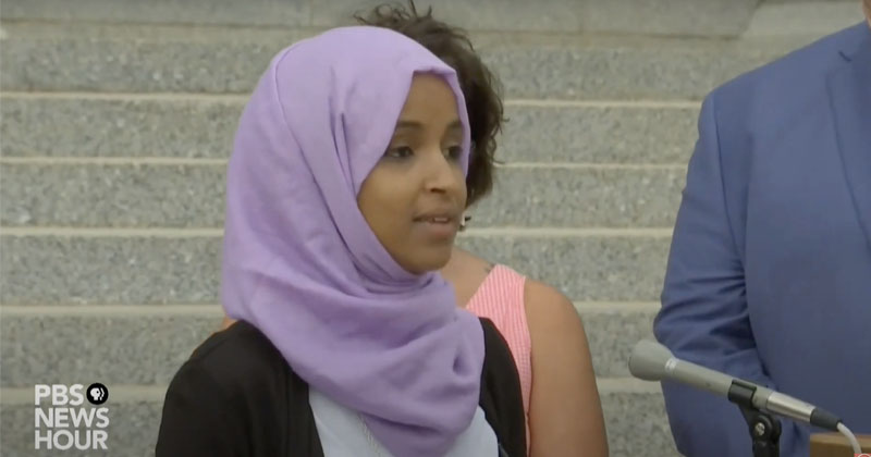 Ilhan Omar Calls For 'Dismantling' Of U.S. 'Economy & Political Systems'