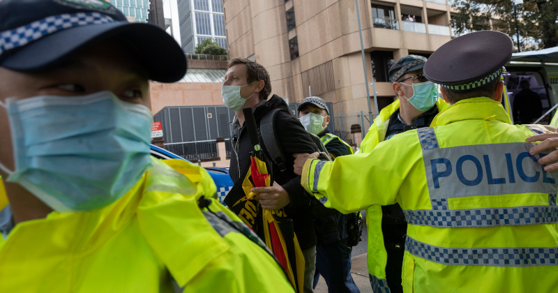 Australian Police Arrest Black Lives Matter Organizer
