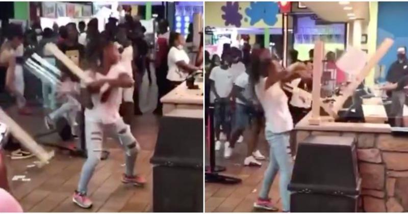 VIDEO: 300 Teens Trash Putt-Putt Fun Center After They're Denied Refund