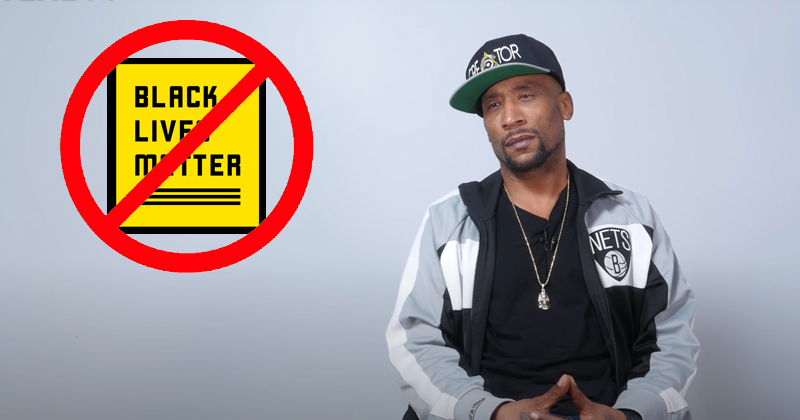 """WATCH: Rapper Calls Black Lives Matter """"a movement given to us by George Soros"""""""