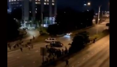 Seattle Protesters Standing On I-5 Highway At Night Hit By Car